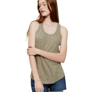 LOU & GRAY FallStriped Tank Top Size M